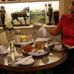 Breakfast at the Windsor.