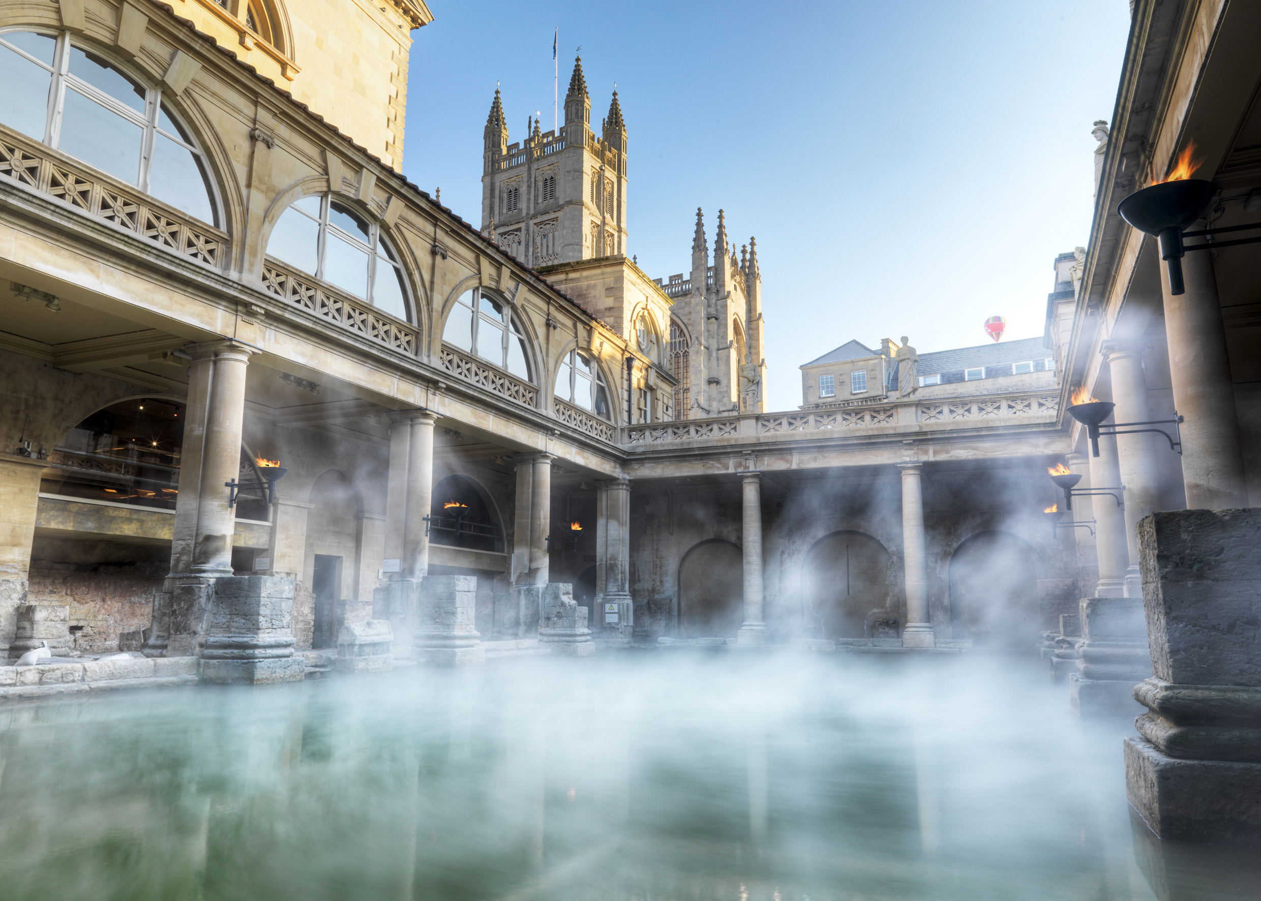 City Centre Attractions Near The Windsor Guesthouse In Bath