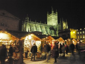 Bath Christmas market 2007