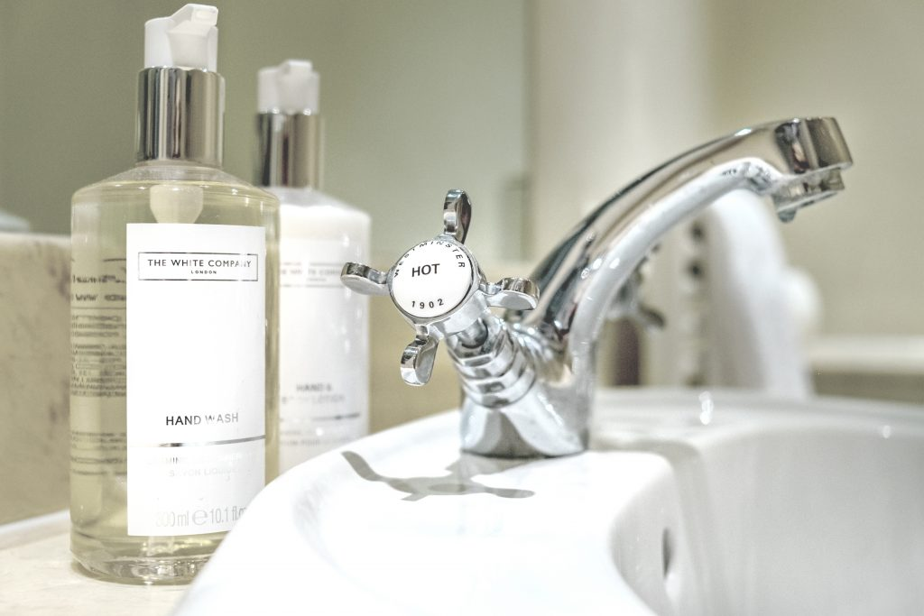 The White Company toiletries