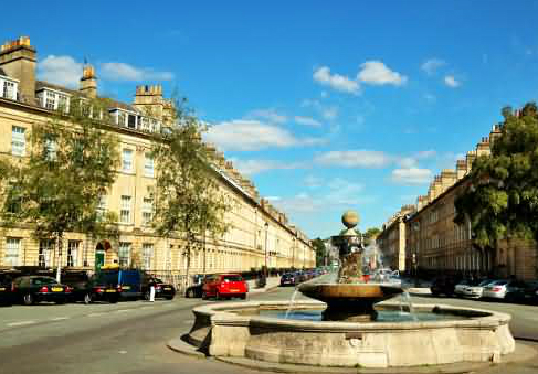 Laura Place & Great Pulteney Street